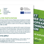The Call for Participation to SUSEET in now online